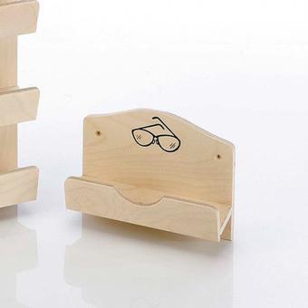 sauna pool shop brillenhalter schichtholz natur online kaufen. Black Bedroom Furniture Sets. Home Design Ideas
